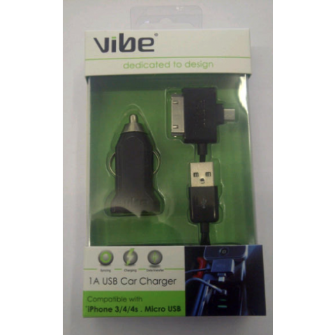Car Charger 2 in 1