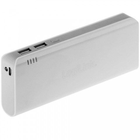 LogiLink Mobile Power Bank 12500mAh - external battery pack