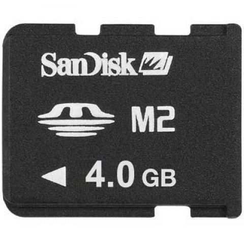 Sandisk 4GB M2 Flash Card