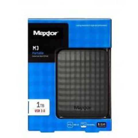 Seagate 1TB M3 Portable Black USB3.0 External HDD