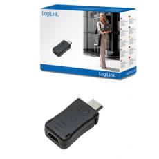 LogiLink Mini 5pin USB Female to Micro B USB Male Adaptor