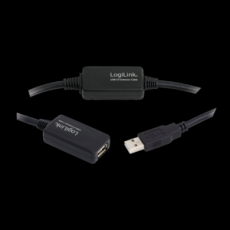 LogiLink USB 2.0 Repeater Cable 20m