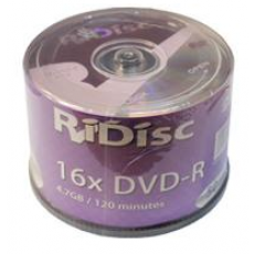 Ridisc 16x DVD-R (50 Pack)