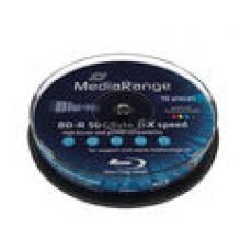MediaRange White Printable 6x 50GB Bluray BD-R DL (10 Pack)