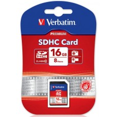 Verbatim 16GB SDHC Flash Card Class 10