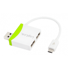 LogiLink USB 2.0 2port Hub with Micro USB Cable