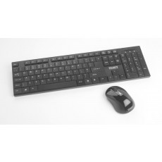 Texet Wireless Keyboard & Mouse Set – Black