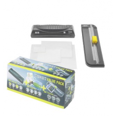 Texet Value Pack Laminator / Pouches / Trimmer