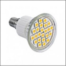 EcoLight E14 5W=40W Warm White LED Bulb