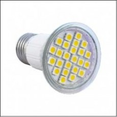 EcoLight E27 5W=40W Warm White LED Bulb