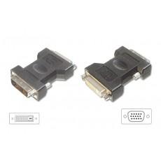 LogiLink DVI-I - VGA Adaptor 12+5F - DSUB15M