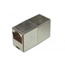 Modular Coupling, 8P8C, Shielded Cat 5e - X-Over
