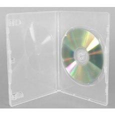 Single DVD Cases - Clear