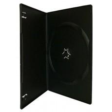 Single Slim (7mm) DVD Cases Black