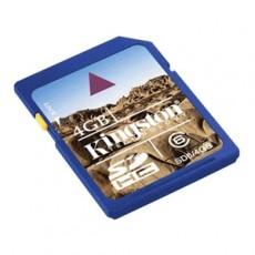 Kingston 4GB SD HC Flash Card