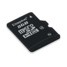 Kingston 8GB Micro SD HC with Adaptor Flash Card