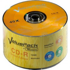 Traxdata Value Pack 52x CD-R (50 Pack)