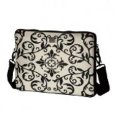 "Smart Laptop Sleeve Macbook 13"" - Black/ White"