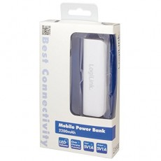 LogiLink PA0085 2200 mAh Mobile Powerbank