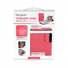 TARGUS VUSCAPE PROTECTIVE CASE FOR IPAD (RED)