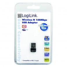 LogiLink 150MBps USB 2.0 Wireless LAN Nano Adapter